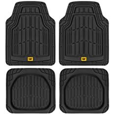 black car floor mat mock up