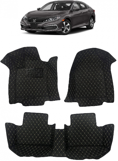Custom Fit All-Weather Full Coverage Heavy Duty Floor Mat