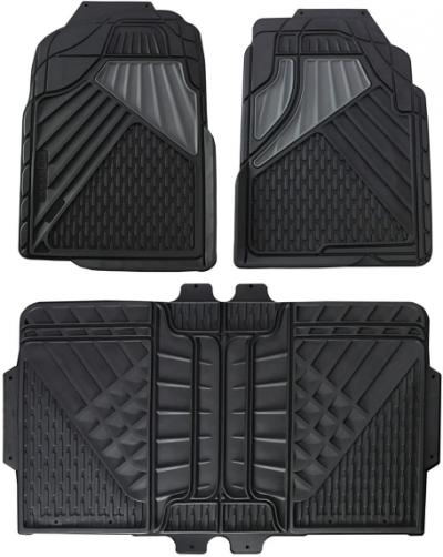 Go Gear 11179000 Full-Size Heavy Duty Black Floor Mats