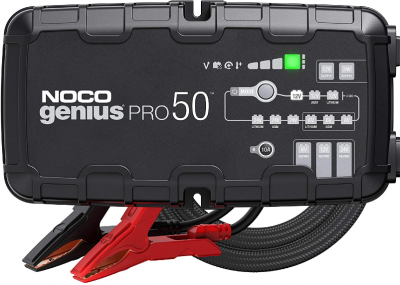 NOCO GENIUSPRO50, 50-Amp Fully-Automatic Professional Smart Charger